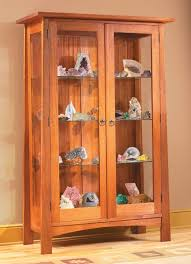 wood and glass cabinet kdpn wood glass display cabinet plans