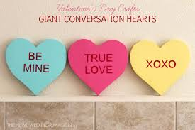 valentines day heart candy s day conversation heart craft
