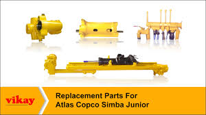 replacement parts for atlas copco simba junior u2013 vikay youtube