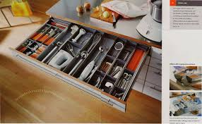 famed kitchen drawers assorted design and organizers inspiration