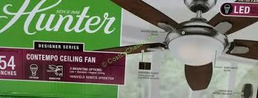 hunter avia led indoor ceiling fan ceiling fans at costco radiothailand org