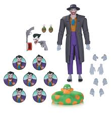 dc collectibles superman vs flash statue joker expression pack