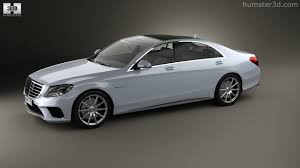 nissan tsuru 2014 360 view of mercedes benz s class 63 amg w222 2014 3d model