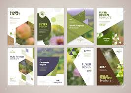 layout template en français natural and organic products brochure cover design and flyer