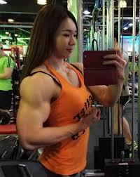 Muscle Woman Meme - meet the korean muscle girl yeon woo jhi 지연우 youtube