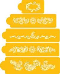 Chandelier Cake Stencil Paisley Cake Stencil Party Ideas Pinterest Paisley Cake