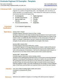 cv sample engineering graduate images certificate design and