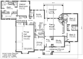 First Floor Master Bedroom Home Plans by Country Home Design S2997l Texas House Plans Over 700 Proven