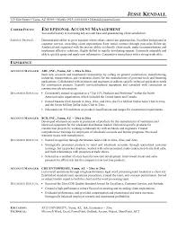 account manager resume exles resume format for accounts manager shalomhouse us