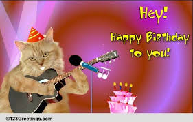 template free birthday ecards singing cats with free free singing animated birthday cards gangcraft net