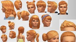 hair color to download for sims 3 mod the sims sunset hair colour non default updated for