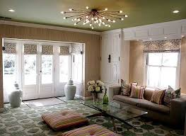 Low Ceiling Lighting Ideas How So Many Different Patterns Created Such A Cohesive Look