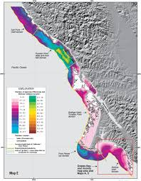 San Francisco Topographic Map by New Maps Reveal Seafloor Off San Francisco Area