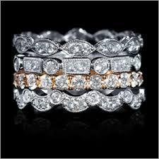 stackable diamond rings jewelry archives the top drawer