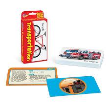 amazon com transportation pocket flash cards toys u0026 games