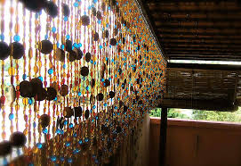 multicolor bone bead curtain memories of a butterfly buy beaded