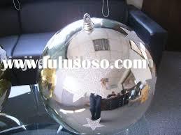 large plastic ornaments decore