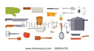 Kitchen Utensils And Tools by Vector Set Kitchen Utensils Cooking Tools Stock Vector 586954781