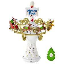disney mickey mouse oh what fun tree topper with light and music