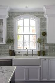 Crackle Subway Tile Backsplash by New York Crackle Subway Tile Kitchen Traditional With Contemporary