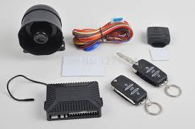 mercedes alarm system one way car alarm system flip key blade auto security kit for