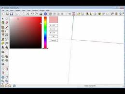 code rgb color picker for sketchup youtube