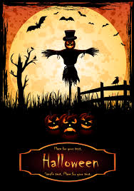 halloween background flyer halloween posters element vector free vector 4vector