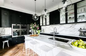 are black and white kitchens in style 20 black kitchens that will change your mind about using