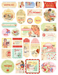 the kitchen collection store scrapbook retro stickers buscar con google stickers vintage