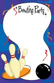 bowling birthday invitations templates free alanarasbach com