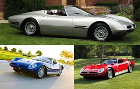 si e auto pebble coachbuild com all three bizzarrini spyders at pebble 2016