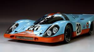 porsche 917 art porsche 917 gulf 24 hours of le mans fuijimi 1 24 car model