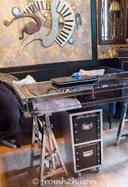 Diy Home Office Furniture Diy Glam Industrial Filing Cabinet Hometalk