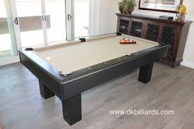 7 Foot Pool Table Contemporary Seven Foot Pool Table Dk Billiards U0026 Service Orange