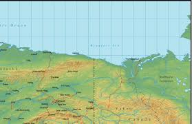 Southeast Alaska Map Northeast Alaska Map