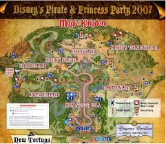 Disney World Magic Kingdom Map Walt Disney World Disney World Vacation Information Guide