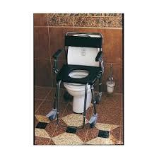 siege toilette pour handicapé fauteuil de et toilette pliant chameleon osmoso handicap