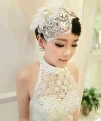 hair pieces for wedding wedding hair accessories 2016 fashionable white lace with