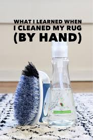 How Clean Rug How To Clean An Area Rug By Hand Roselawnlutheran