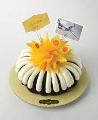 nothing bundt cakes shop with personalized message card what
