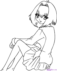 anime vampire coloring pages kids coloring page gallery