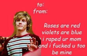 Valentines Day Cards Meme - american horror story valentines day cards album on imgur