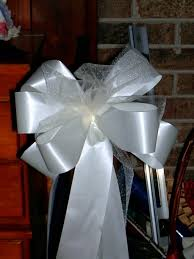 decorative bows 10 florist ready ivory pew bows wedding decorations bridal 2337140