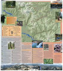 Cabinet Mountains Wilderness The Cabinet Mountains Wilderness Map Of 2014 Blue Creek Press