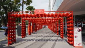 Christmas Decorations Wholesale In Penang by Chinese New Year Decorations Queensbay Mall 2016 U2013 Realgunners