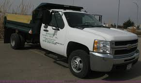 2007 chevrolet silverado 3500hd dump body truck item e3079