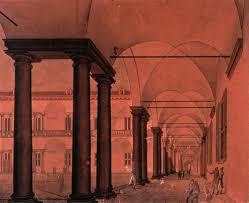 il cortile re i porticati interni dell universit罌 di pavia i portici