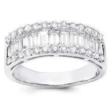 baguette diamond band and baguette diamond band
