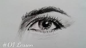 how to draw human eye step by step tutorial for beginners youtube