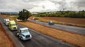 volvo trak volvo trucks opens paved test drive track for its customers